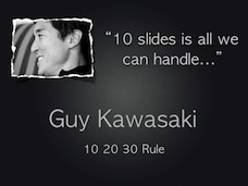 Extract from Guy Kawasaki's The Art of Innovate presentatiom