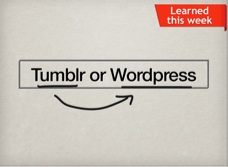 This week we decided to switch our blog from Tumblr to Wordpress. There are many pros and cons for each blogging platform, but after having tried them both we decided to share what we learned with others that may be asking themselves if they should switch from Tumblr to Wordpress or not.