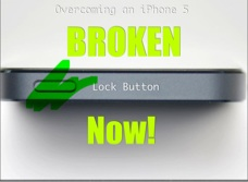 A broken iPhone 5 lock button is a real pain. In this voice slide I show a workaround that will allow you to lock your screen.
