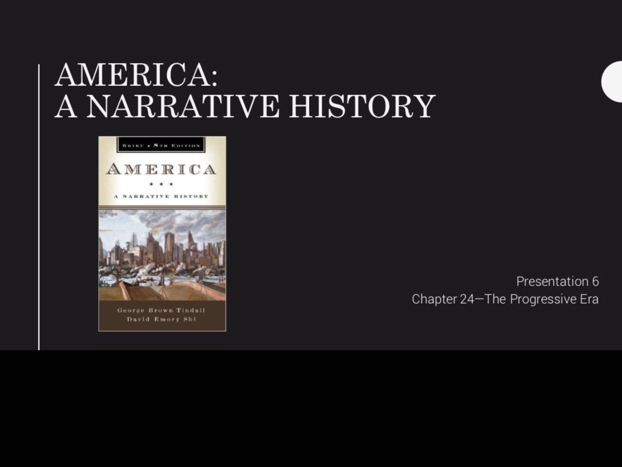 chapter 29 america a narrative history Of american history (3rd ed, 2003) another useful book is documents of american history (10th ed, 1988), edited by henry steele commager besides the harvard guide, two bibliographical guides stand out america: history and life is regularly updated, and is therefore useful for fi nding more recent materials.