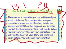 I will walk through creating inner monologue step by step with a think aloud.
